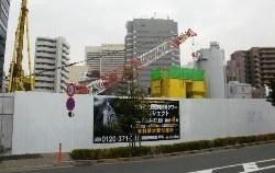▲(仮称)大井町大規模再開発タワープロジェクト